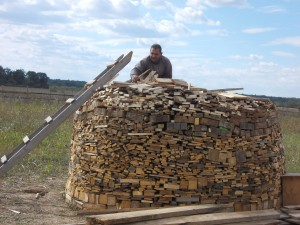 capita de lemne